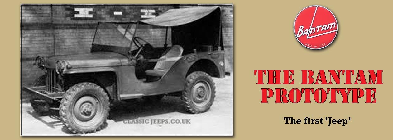 Willys Jeep the history Classic Jeeps.co.uk
