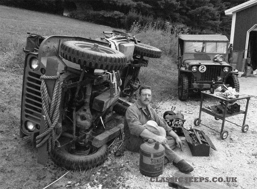 WW2 Jeep Maintenance