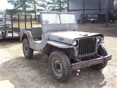 Restoring a WW2 Jeep