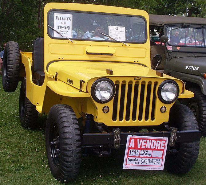 CJ-3A Willys Jeeps Classsicjeeps.co.uk