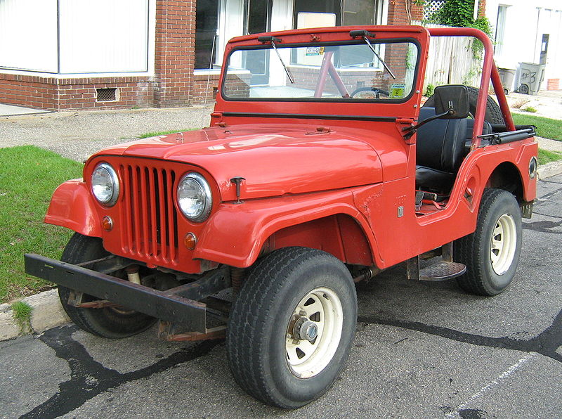 CJ-5 Willys Jeeps
