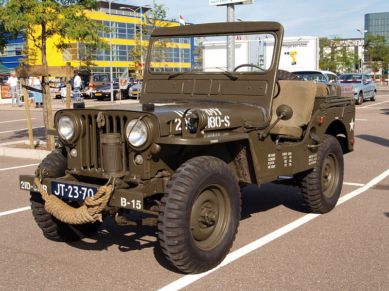 M38 Willys Jeeps classicjeeps.co.uk