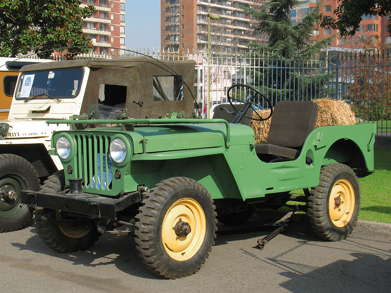 Willys Jeeps CJ2 a