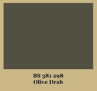 Olive Drab Paint