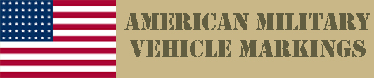 American Military Vehicle Markings